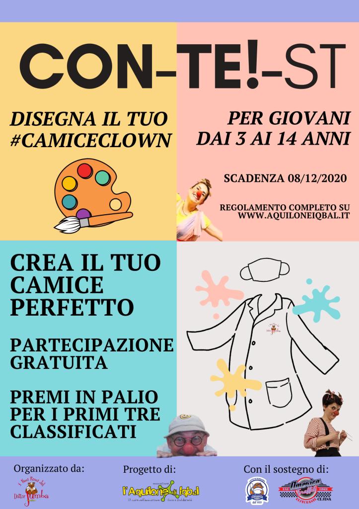 Locandina #camiceclown