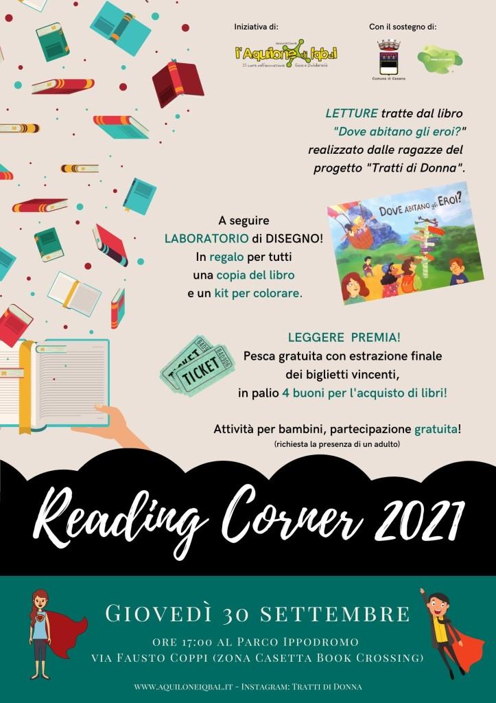 Green City 2021 - Reading Corner. Tratti